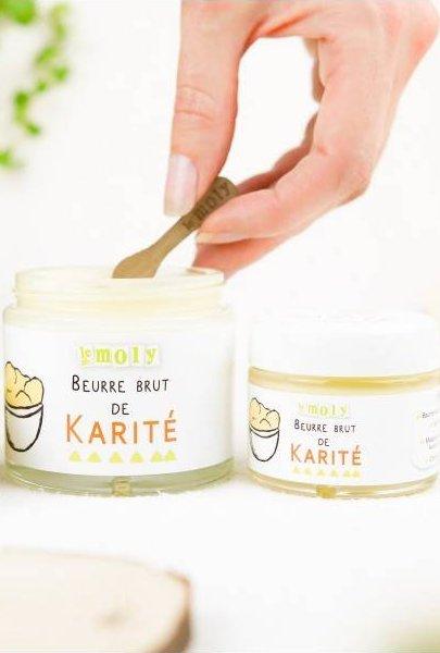 Beurre brut de karité Le Moly