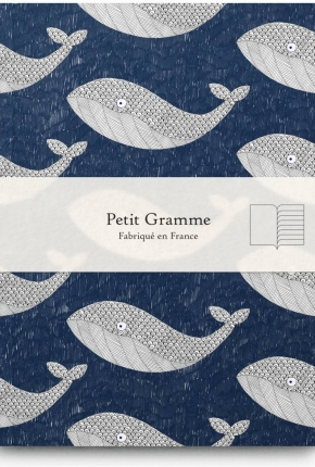 Carnet small Baleine Bleue