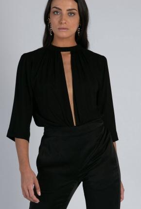 Top Piaf noir