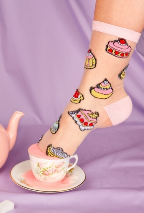 Chaussettes Patisseries