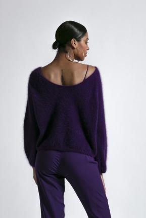 Pull Lauper violet