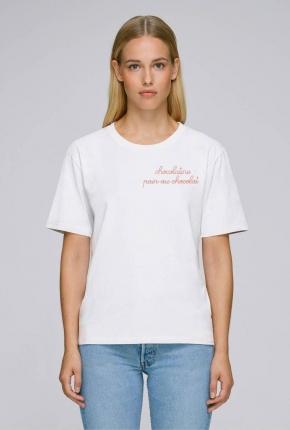 T-shirt femme brodé...