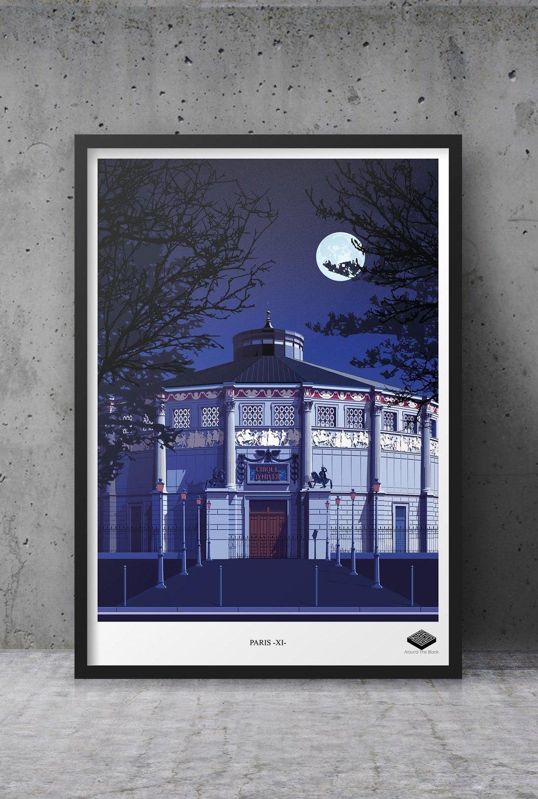 Affiche A3 - Paris XI -...