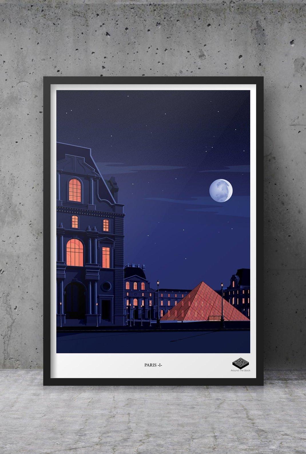 Affiche A3 - Paris I -...