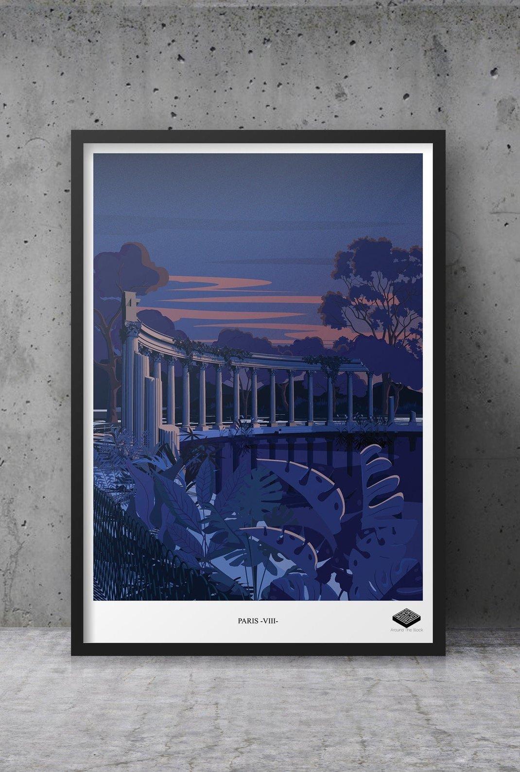 Affiche A3 - Paris VIII -...