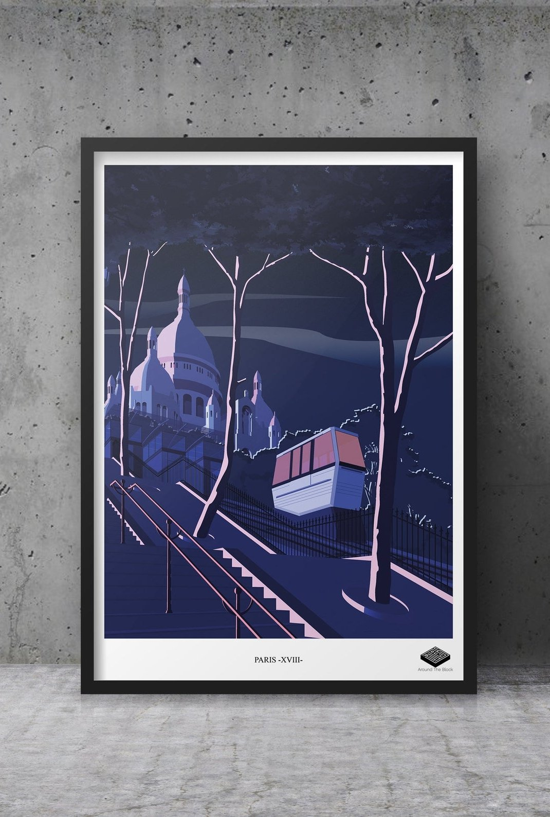 Affiche A3 - Paris XVIII -...