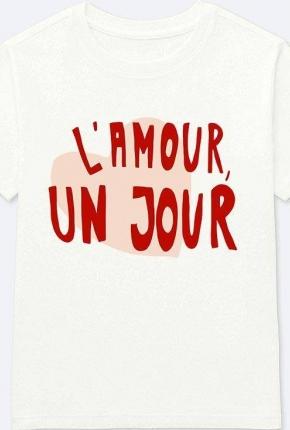 T-shirt L'amour un jour