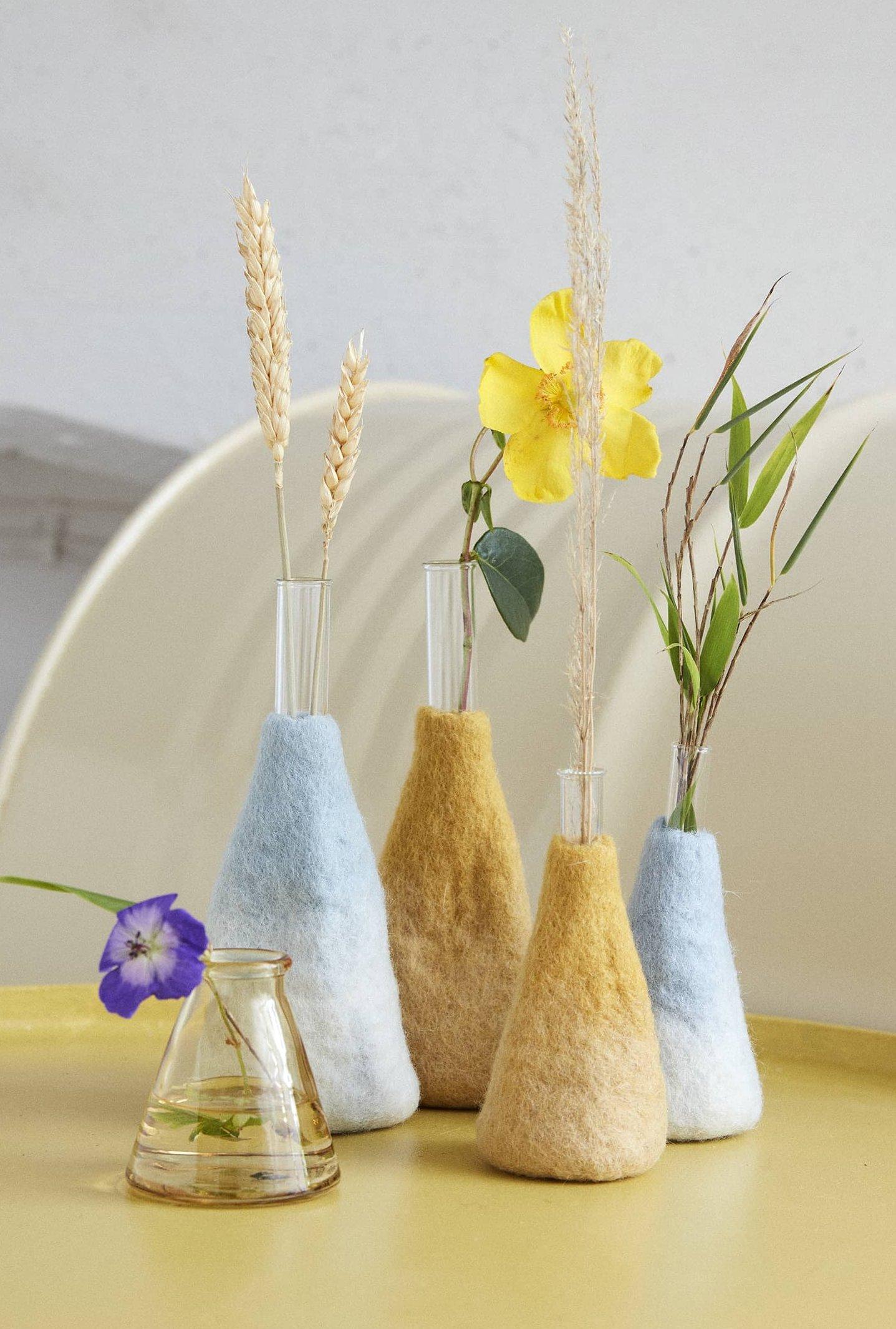 Vase soliflore M bleu ciel