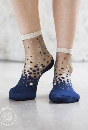 Chaussettes Nakameguro blue
