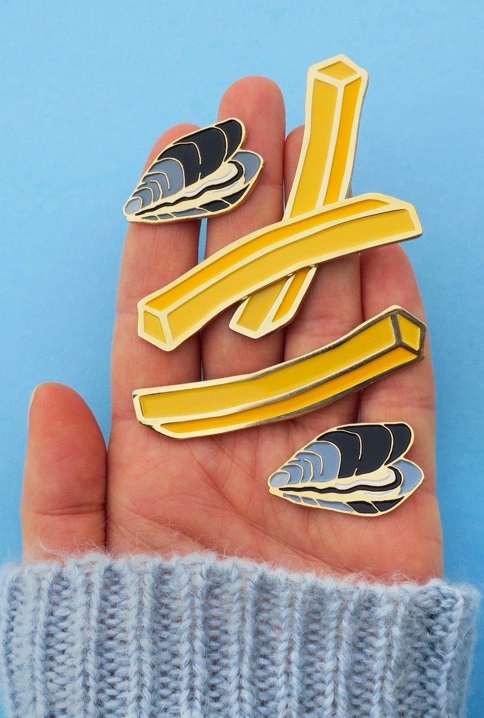 Pin's Moules Frites (au choix)