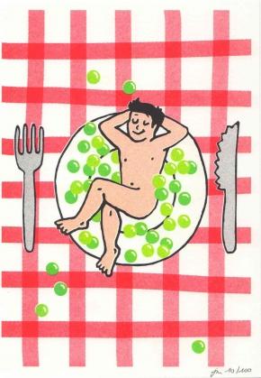 Affiche A5 Bon Appétit