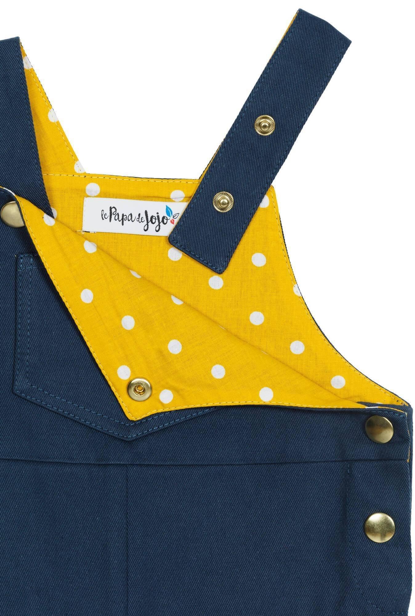 Superlipopette bleue/jaune