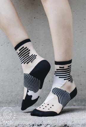 Chaussettes Tokyo blanc