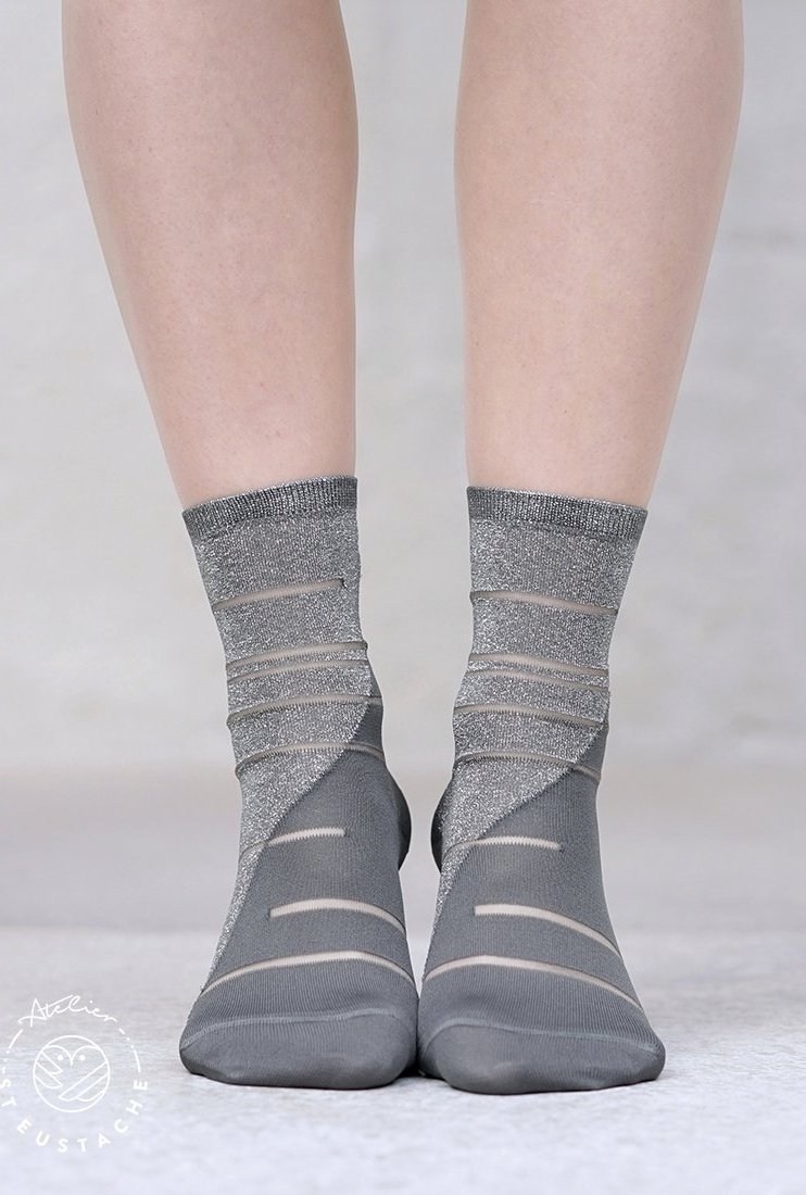 Chaussettes Tate Modern argent