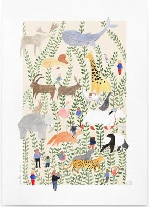 Affiche A4 Jungle