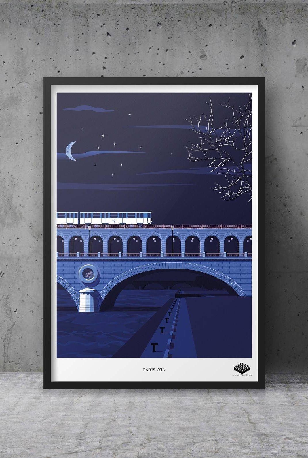Affiche A3 - Paris XII -...