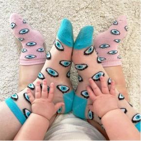 Chaussettes bébé Œil