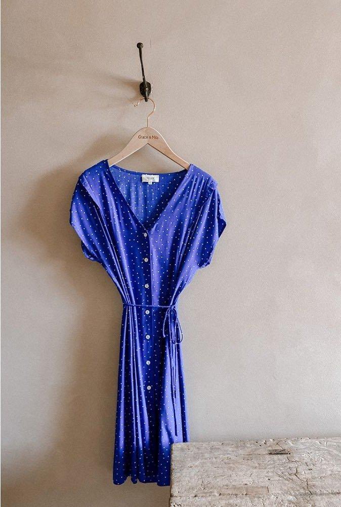 Robe Clarence bleu