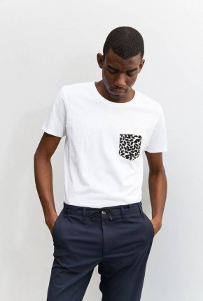 Tee-shirt unisexe Amok blanc