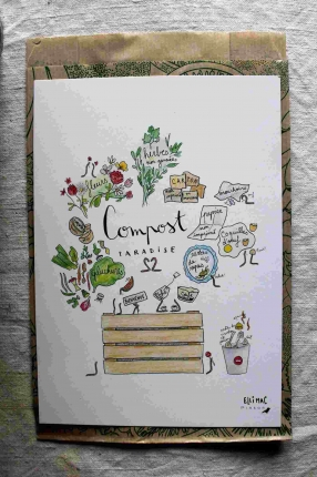 Affiche A5 Compost