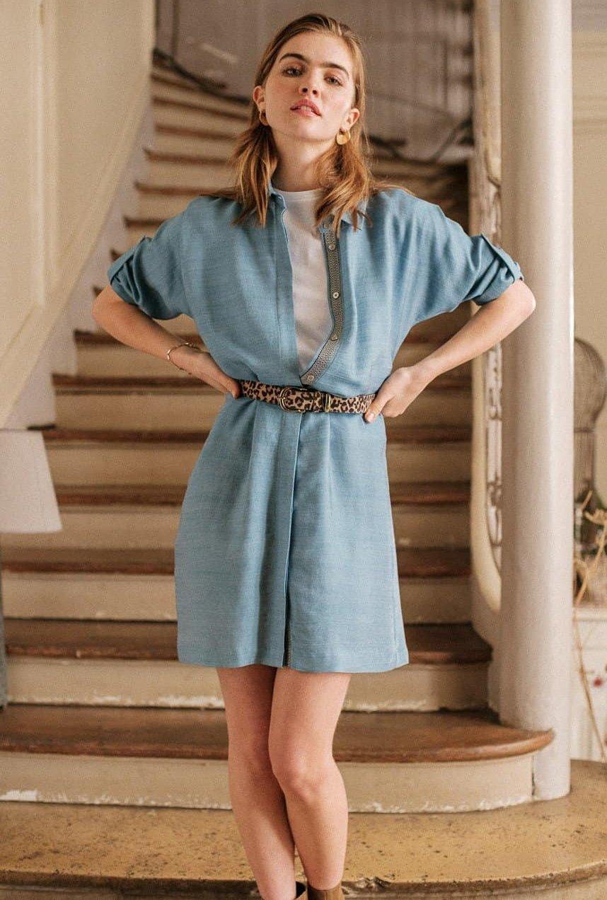 Robe Romane bleu jean