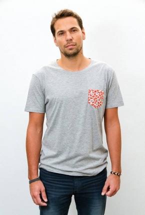 Tee-shirt unisexe Amok gris