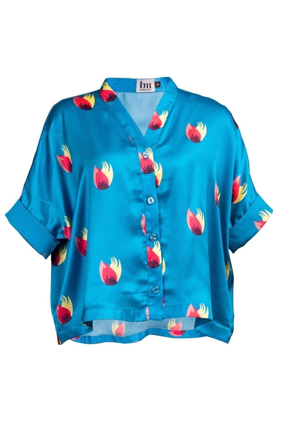 Chemise Bali bleu