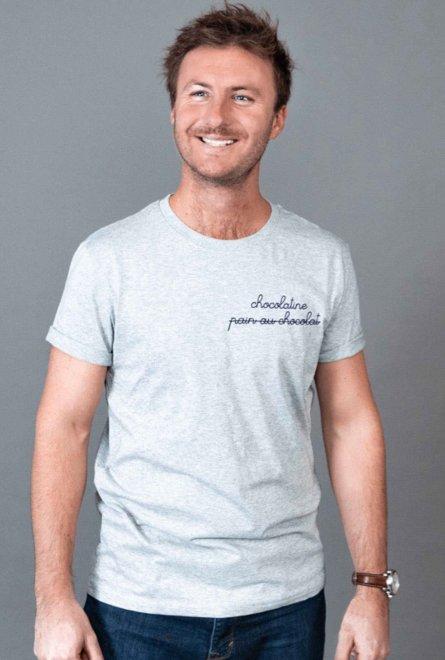 T-shirt unisexe brodé...
