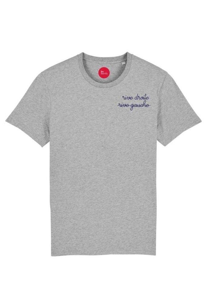 T-shirt unisexe brodé Rive...