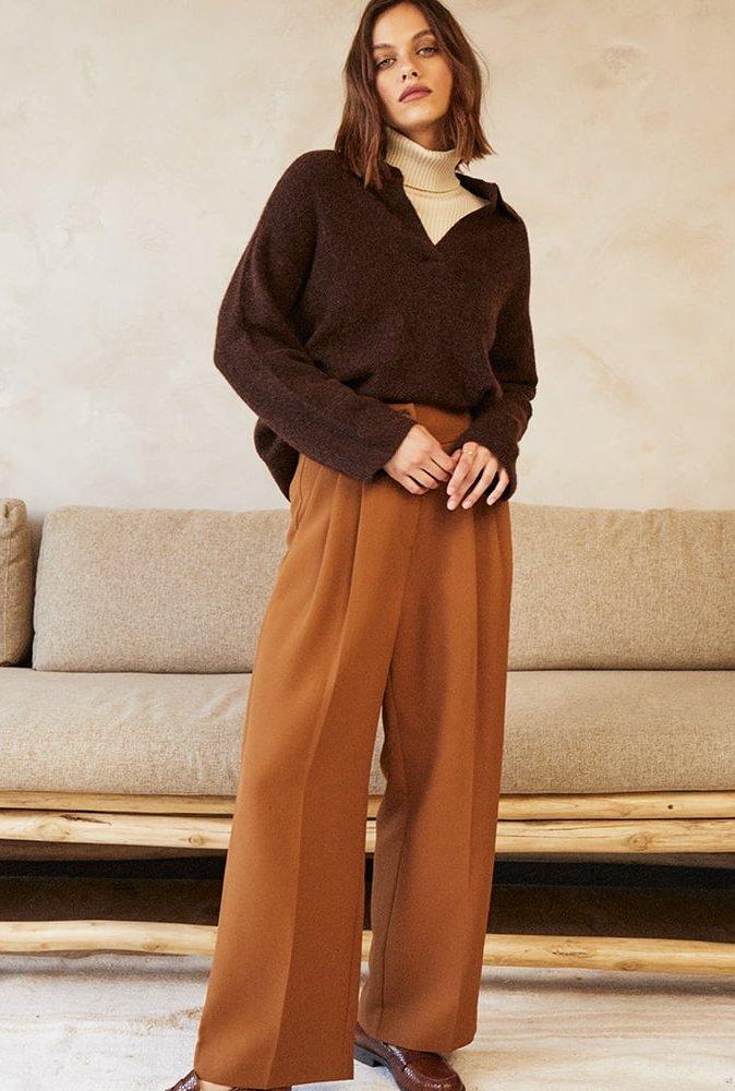 Pantalon Daumesnil camel